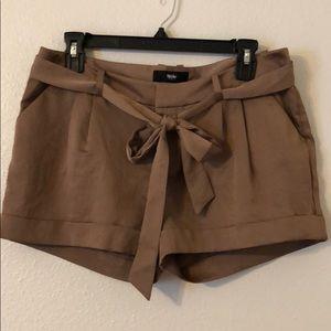 Tan Dress Shorts